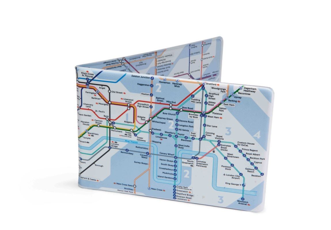 Tube Map Oyster Card TRAVEL Wallet London Underground Multiple Colours | eBay
