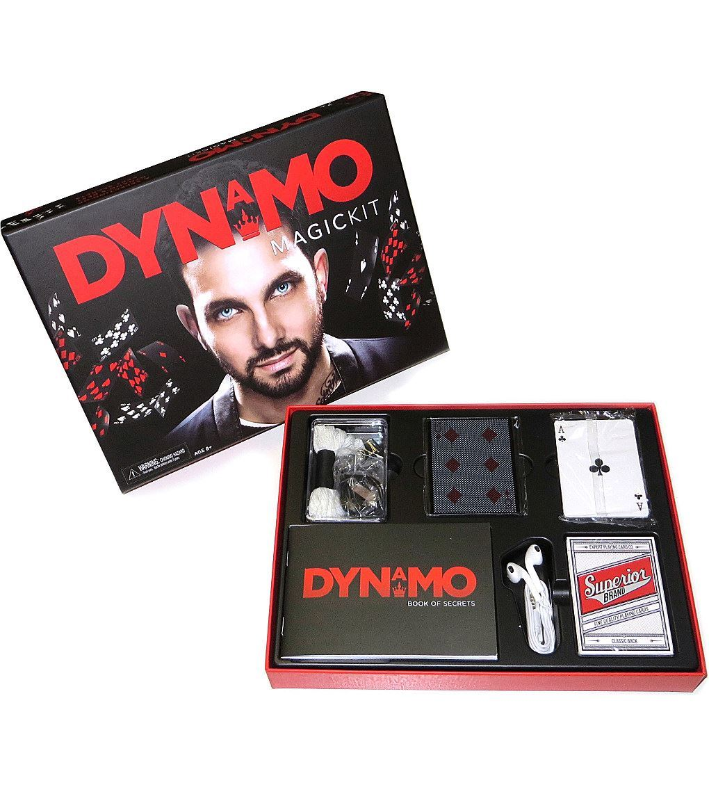 Official Dynamo Magician Magic Kit Set Book Of Secrets