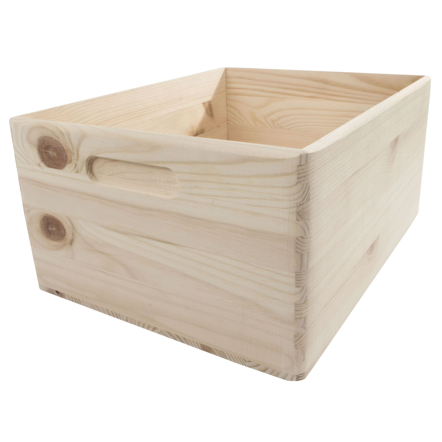 Household Essentials Whiskey Design Decorative Wood Crate ...