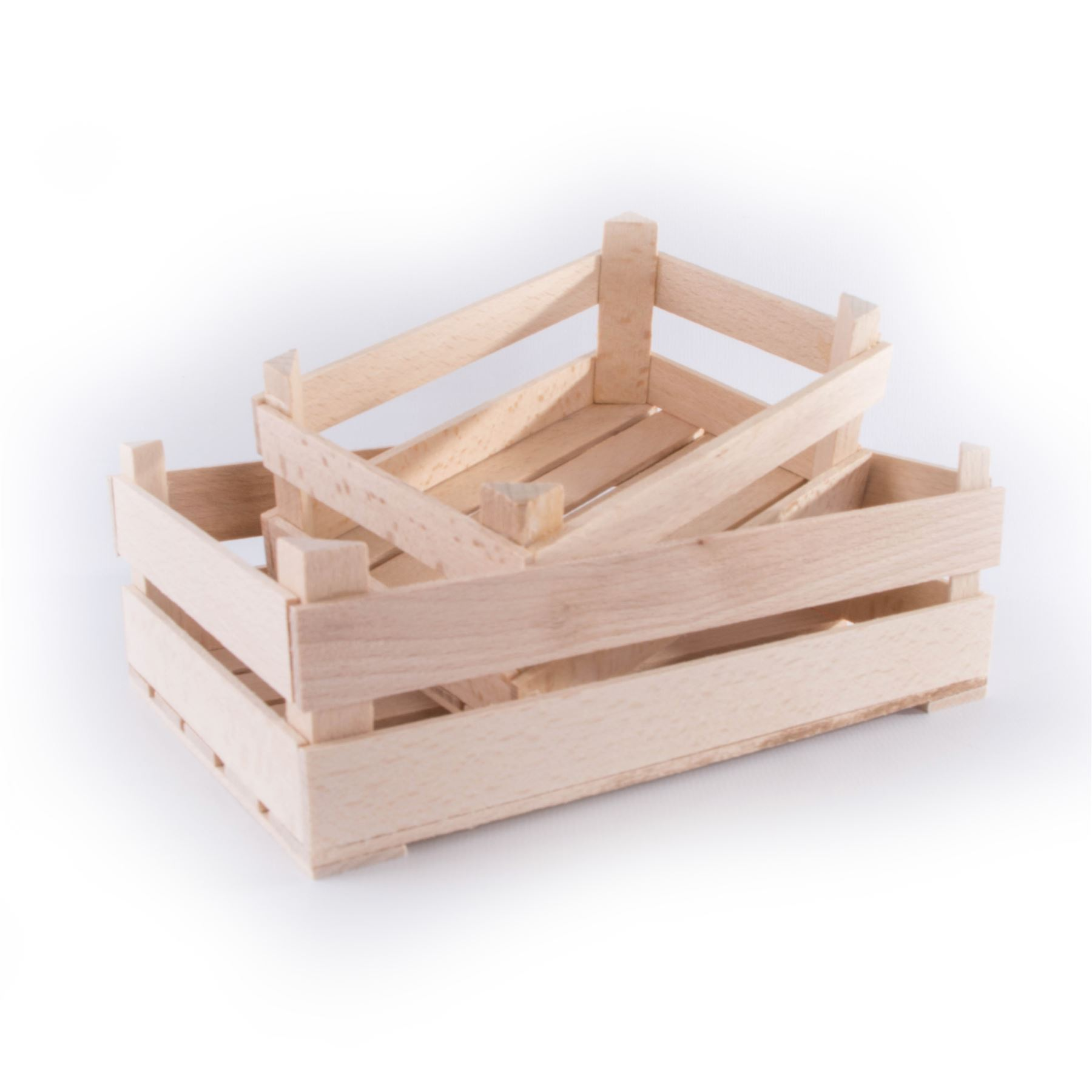 Details About Wooden Decorative Mini Little Crates In 2 Sizes Cute Display Boxes For Craft