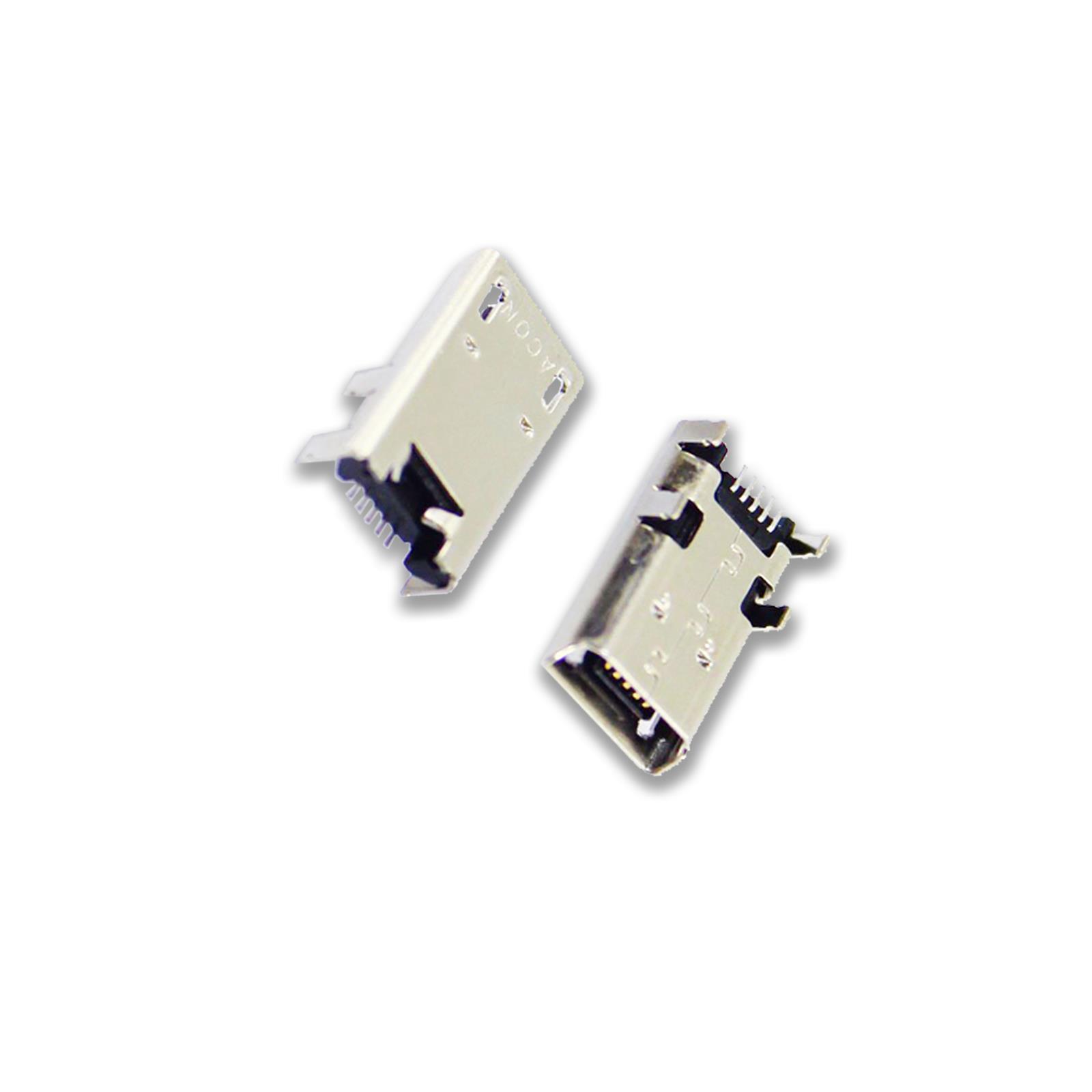 LENOVO Tab 2 a10-70f MICRO USB Porta di Ricarica CC Presa Connettore