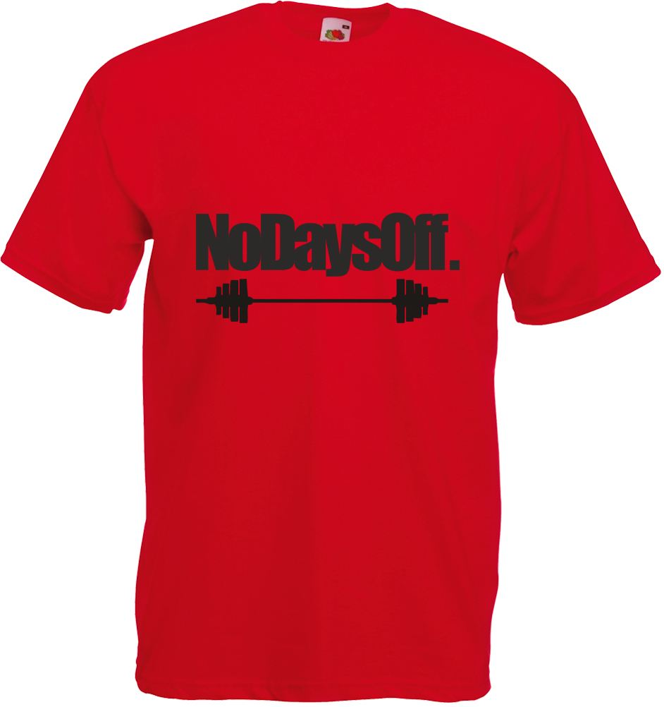 No days off adults printed t shirt ebay for T shirt printing one off