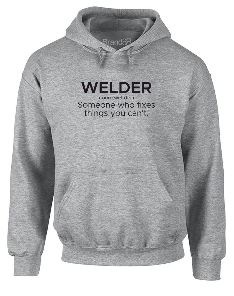 Welder Definition Printed Hoodie Brand88
