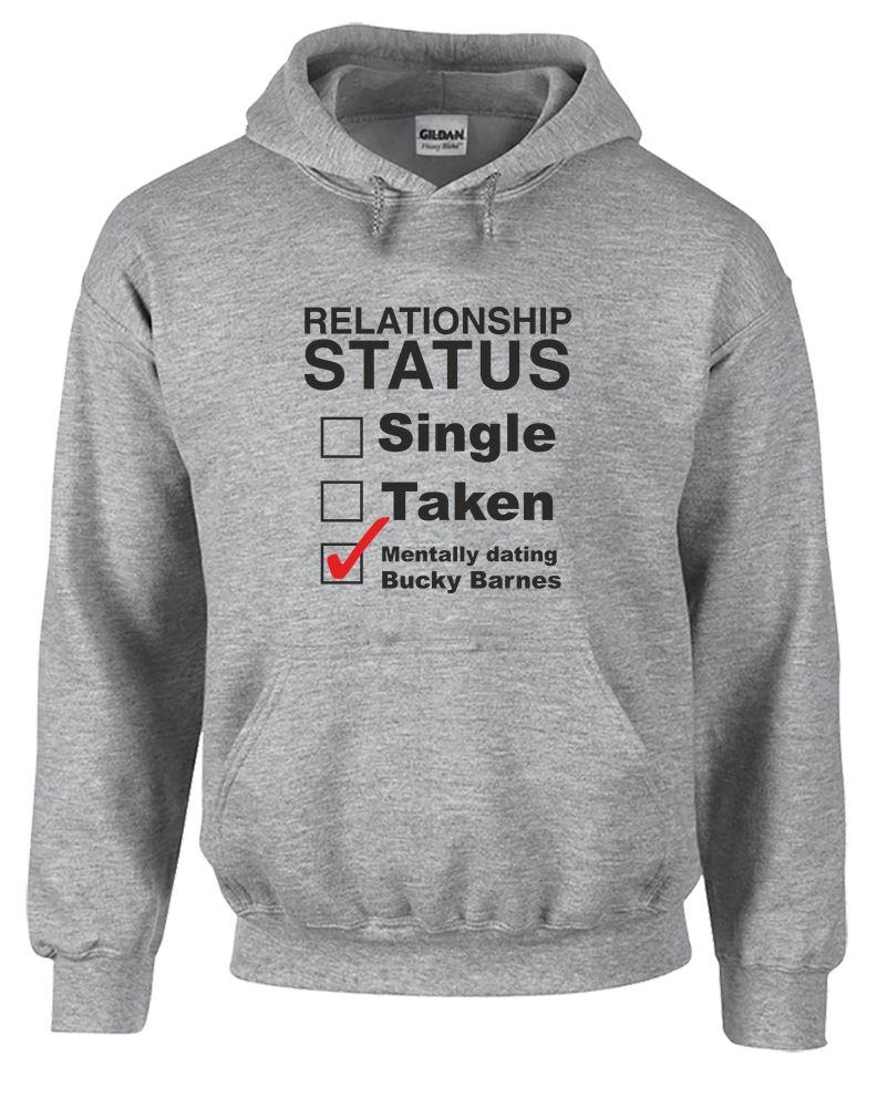 Mentally Dating Bucky Barnes Mens Printed T-Shirt