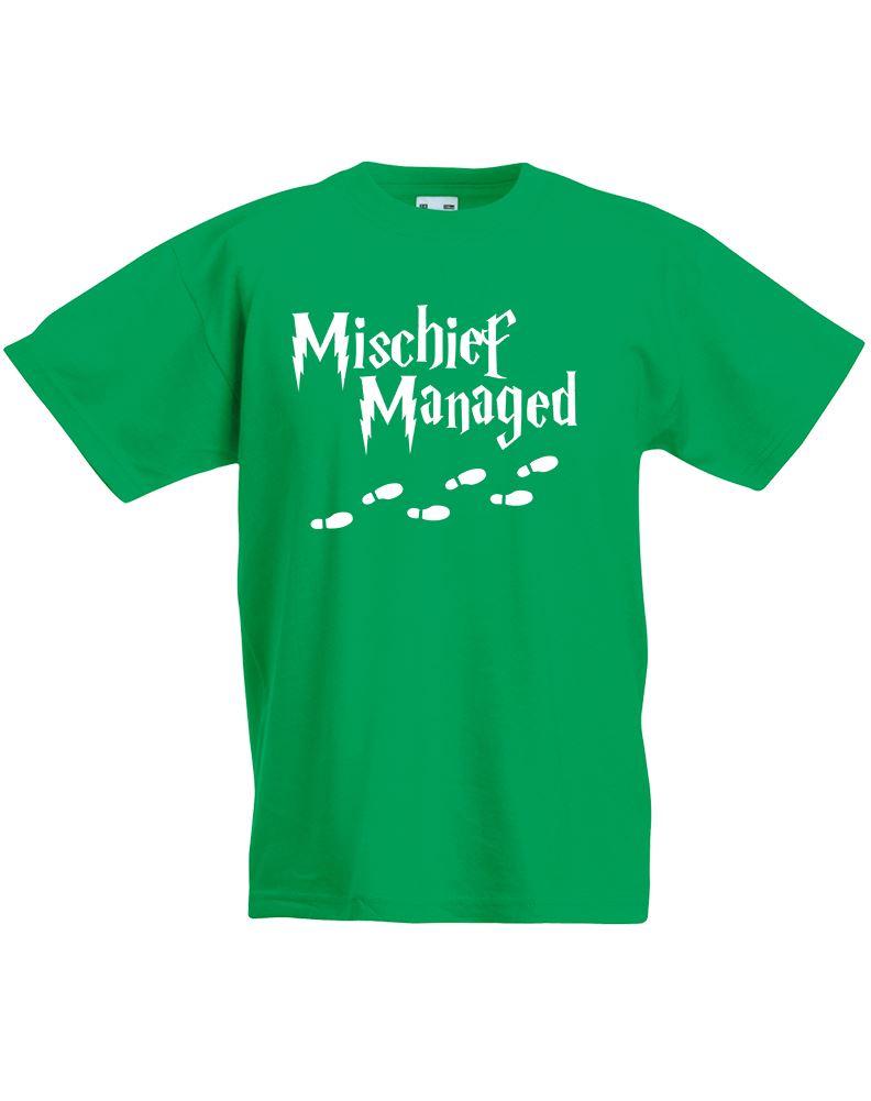 Mischief Managed Kids Printed T Shirt Ebay
