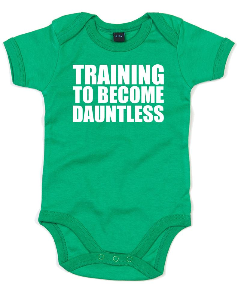 Training-To-Become-Dauntless-Printed-Baby-Grow