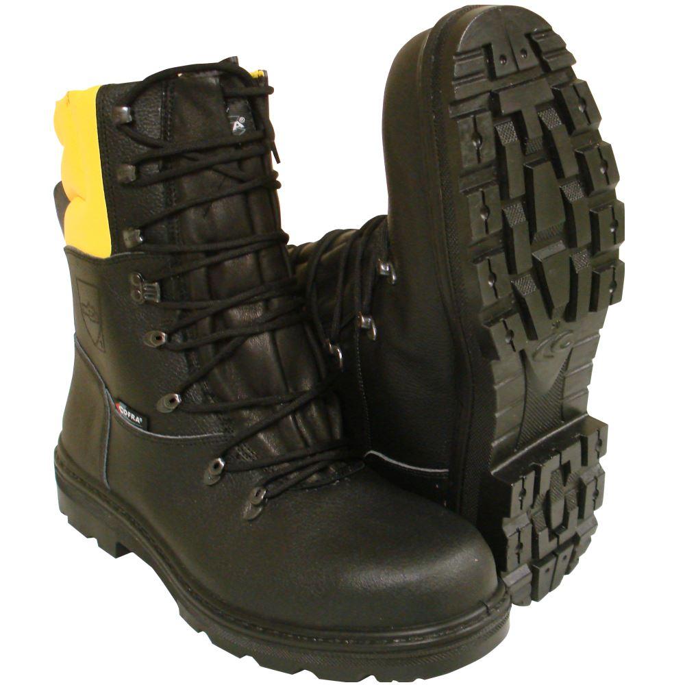 Forestry Size Class Chainsaw Blackamp; COFRA Yellow Boots Aborist 1 ULqMzpSVG