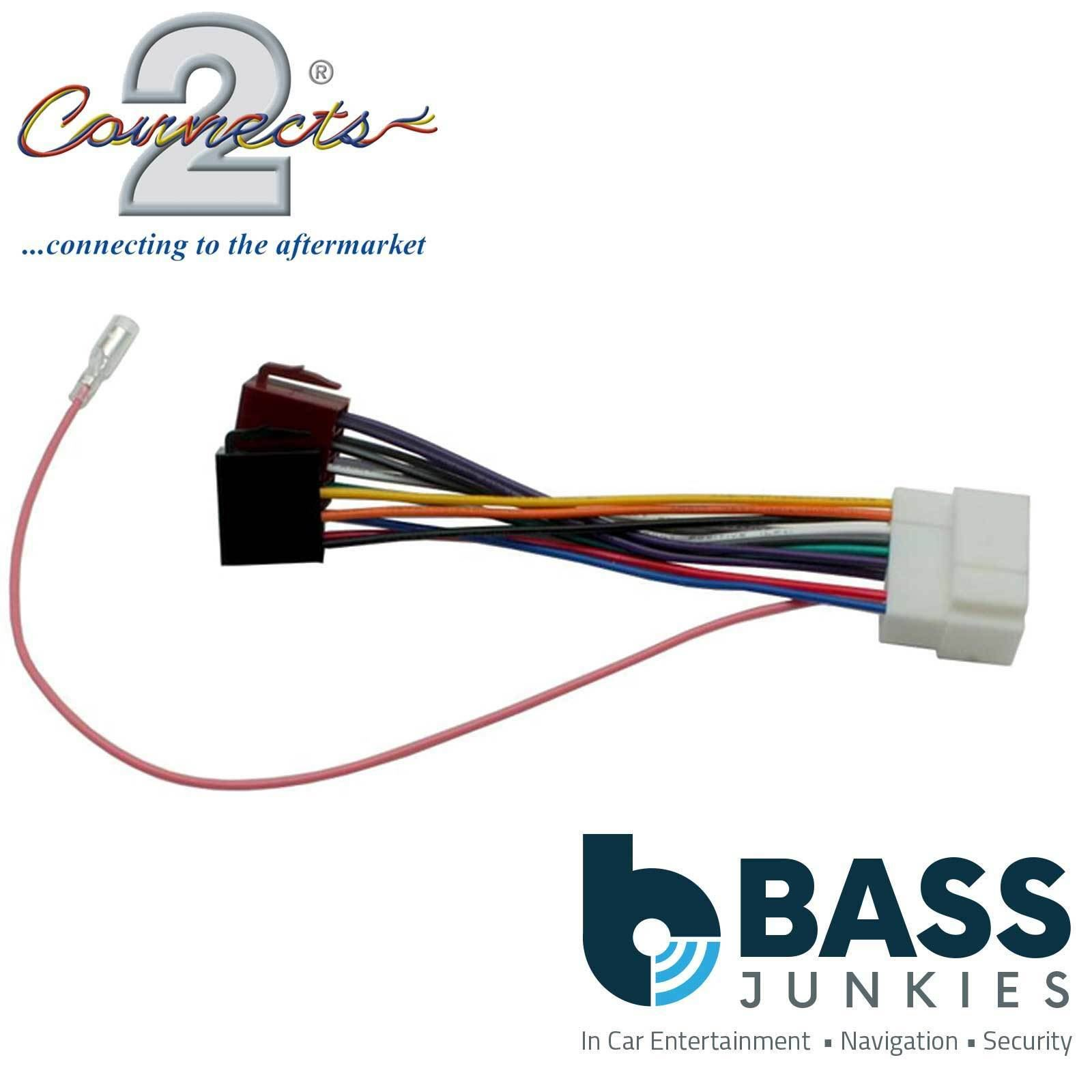 CT20HD02 SUZUKI IGNIS 2002 ONWARDS OEM SPECIFIC ISO HARNESS ADAPTER WIRING LEAD
