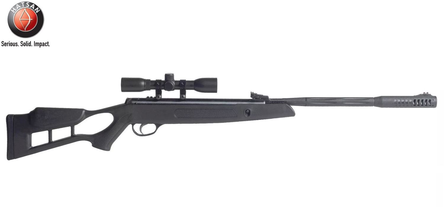 Details about New Hatsan AirTact ED Break Barrel Air Rifle With 4x32 Optima  Scope