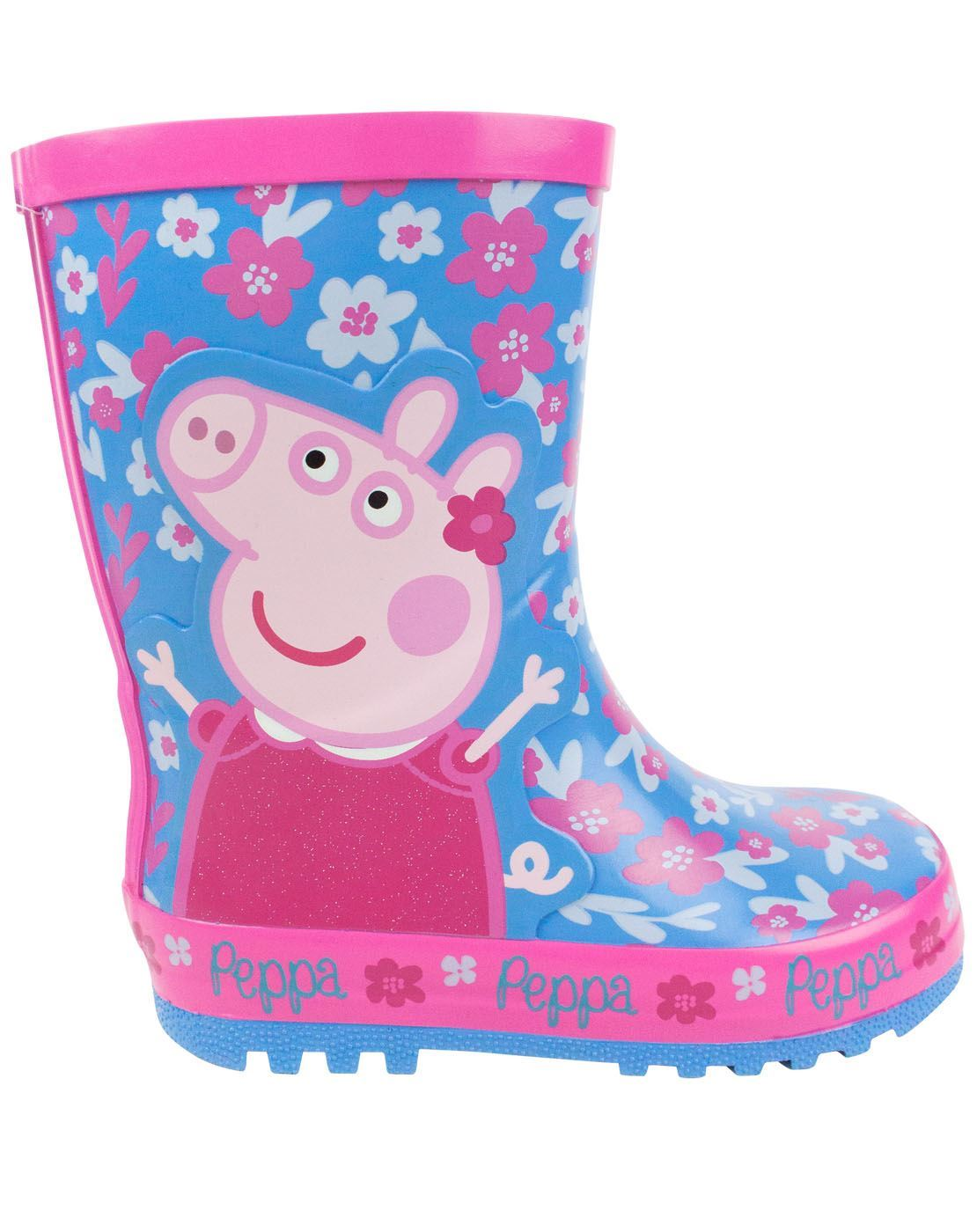 Details Boots Kids Peppa Wellington Wellies 10 Sizes Rain About 4 To Pig Flower Girl's Uk Blue LSUzpVjqMG