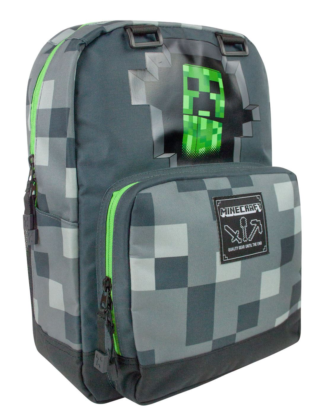"Official JINX Minecraft Childrens//Kids CREEPER 18/"" Backpack"