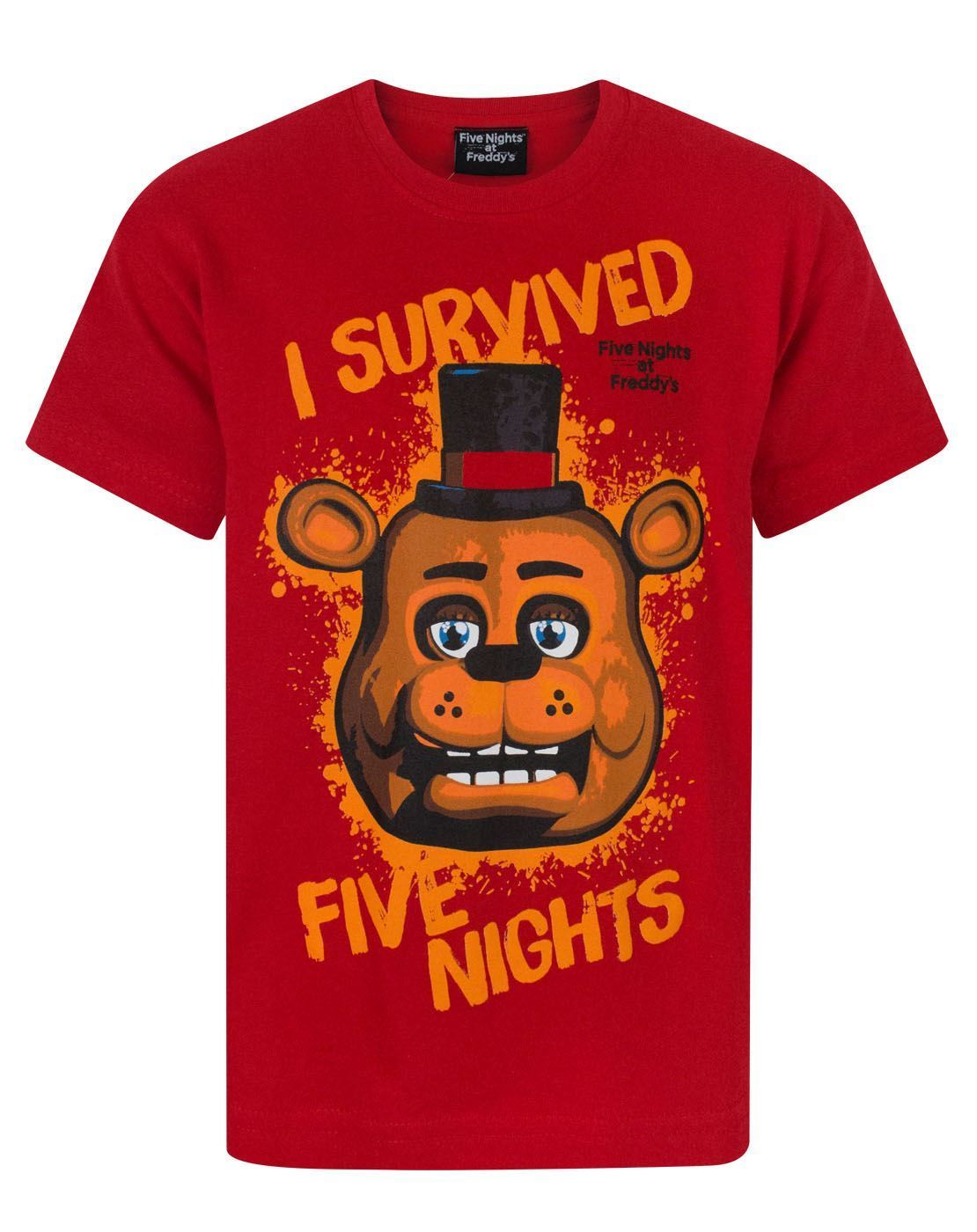Kids' Clothes, Shoes & Accs. Five Nights At Freddys Fnaf Optional Personalised Kids T Shirt Spooky 2 Easy To Use