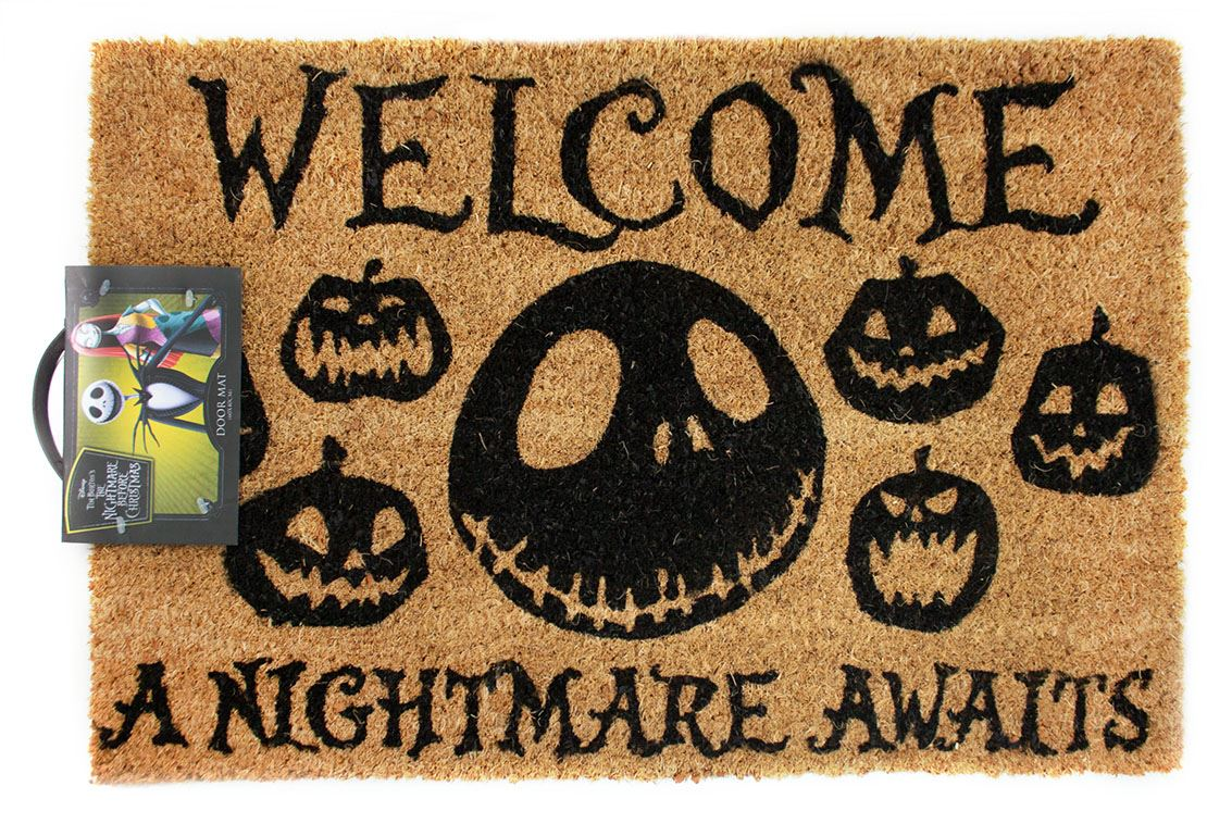 Nightmare Before Christmas Halloween doormat