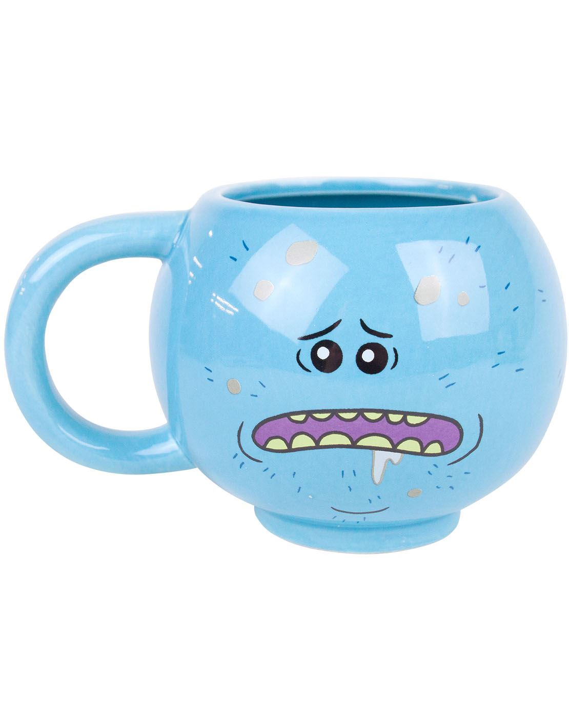 406583a36 Rick and Morty Meeseeks Pain Men's T-Shirt and 3D Novelty Mug Bundle Gift  Set