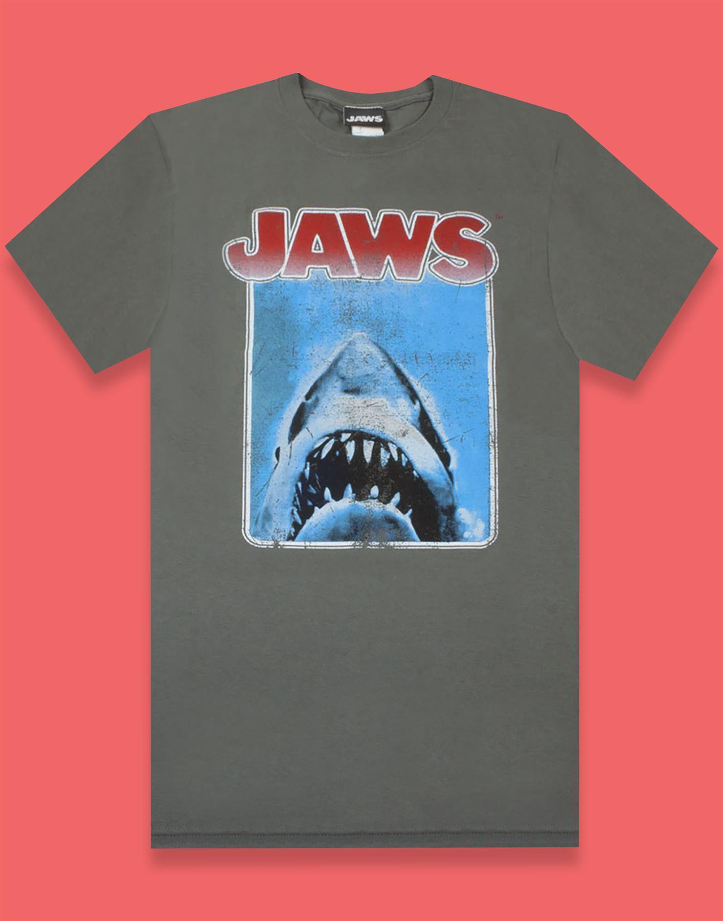 Jaws Movie Poster Camiseta para Hombre