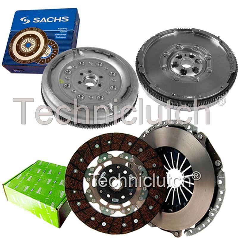 valeo 2 part clutch kit and sachs dmf for skoda octavia estate 1.6