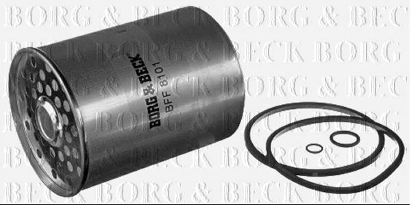BORG /& BECK FUEL FILTER FOR CITROEN JUMPY DIESEL 1.9 51KW