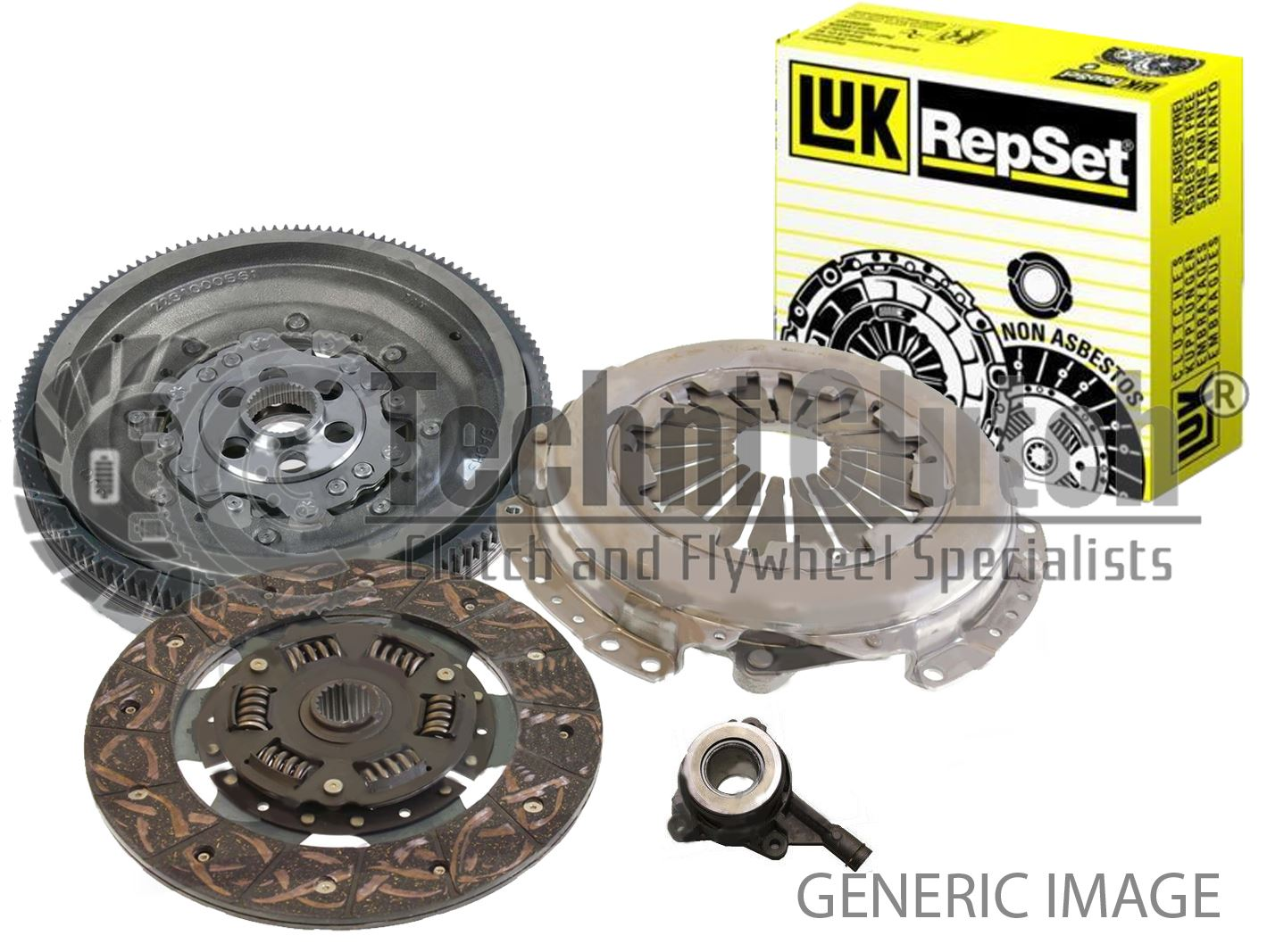 CHEVROLET CAPTIVA 2.0D DMF Flywheel Bolts 2006 on Dual Mass LuK Quality New