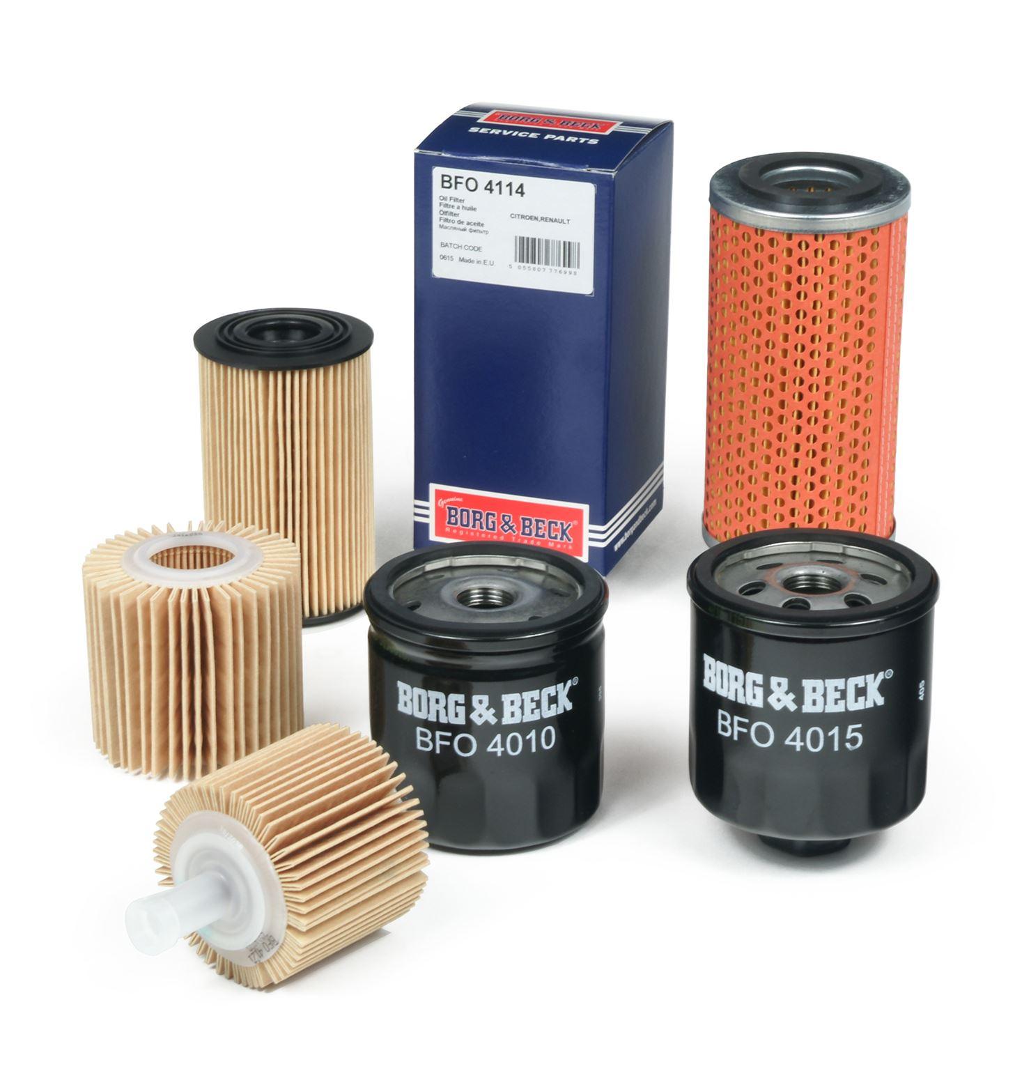 BORG /& BECK OIL FILTER FOR PEUGEOT 309 HATCHBACK 1.3 47KW
