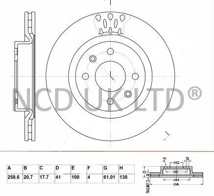 JURATEK PAIR OF FRONT BRAKE DISCS FOR DACIA LOGAN SALOON 1.2 16V LPG