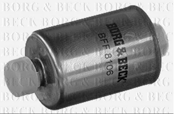 Borg /& Beck Filtro De Combustible Para Ford Fusion 1.6 74KW motor de gasolina