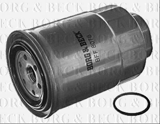 Borg /& Beck Filtro De Combustible Para Nissan QASHQAI//QASHQAI 2 Diesel 1.5 81KW