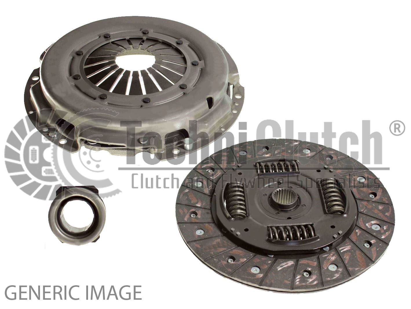 Solid Flywheel Peugeot Expert 2.0 HDi Solid Flywheel and Clutch Kit