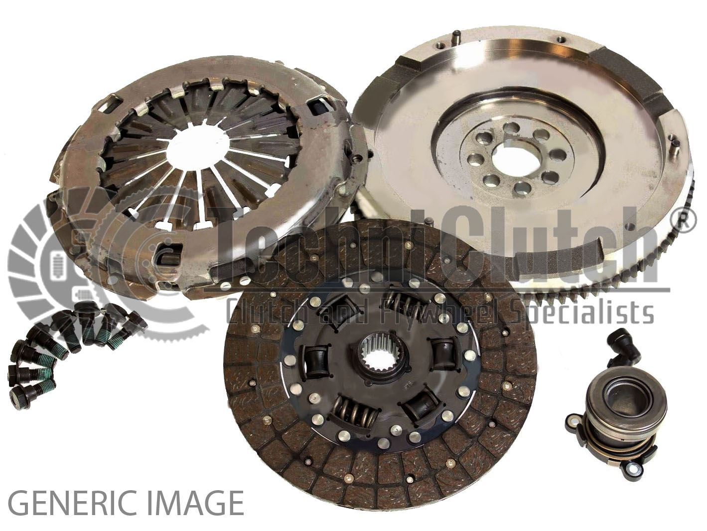 MERCEDES SPRINTER 901 902 2.7D Solid Flywheel Clutch Conversion Kit 2004 Set