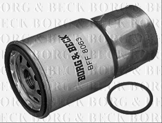 Borg  U0026 Beck Filtro De Combustible Para Mazda 323 S Diesel
