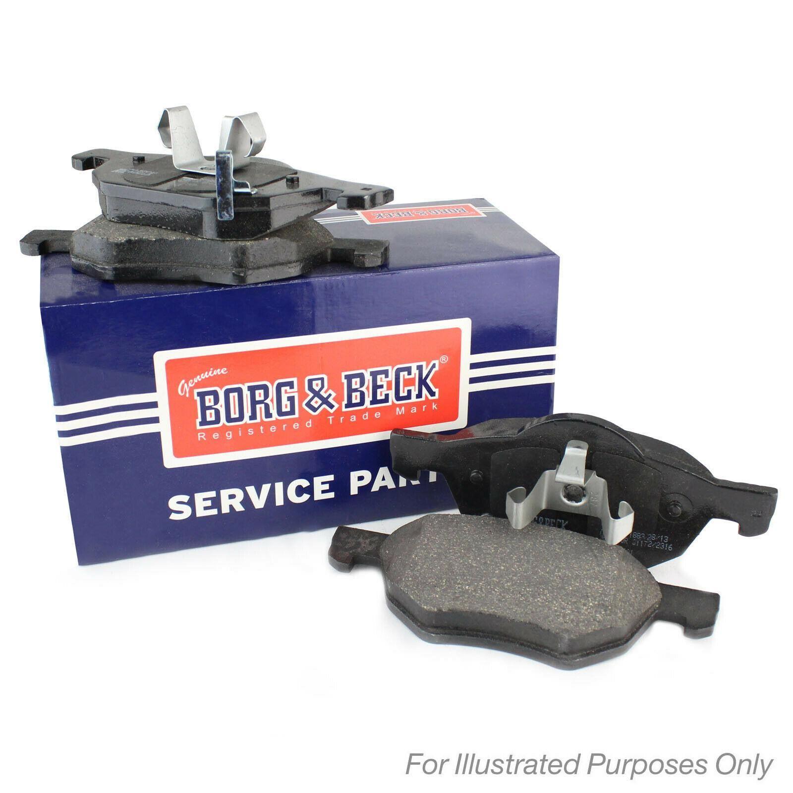 FRONT BRAKE PADS SET BORG /& BECK FOR FORD ESCORT 2.0 80KW