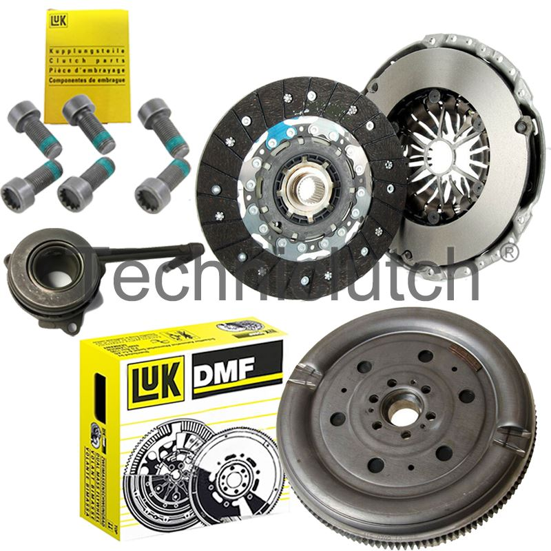 CLUTCH KIT CSC /& LUK DUAL MASS FLYWHEEL FOR SEAT ALHAMBRA 1.9 TDI