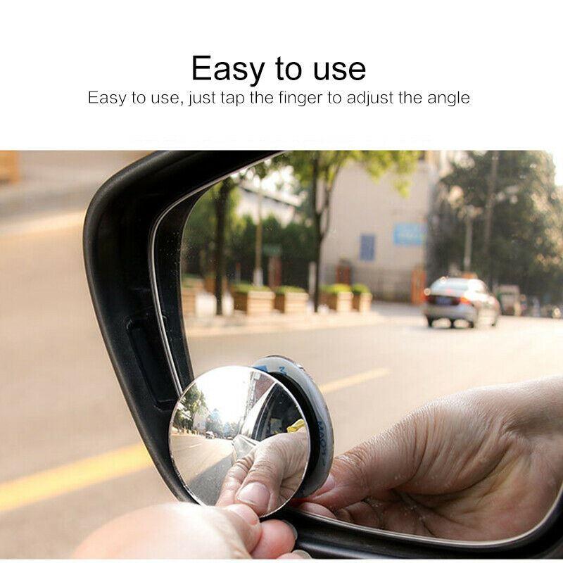 Blind Spot Miroirs Stick angle Miroir Réglable Voiture Van Remorquage Recul X2