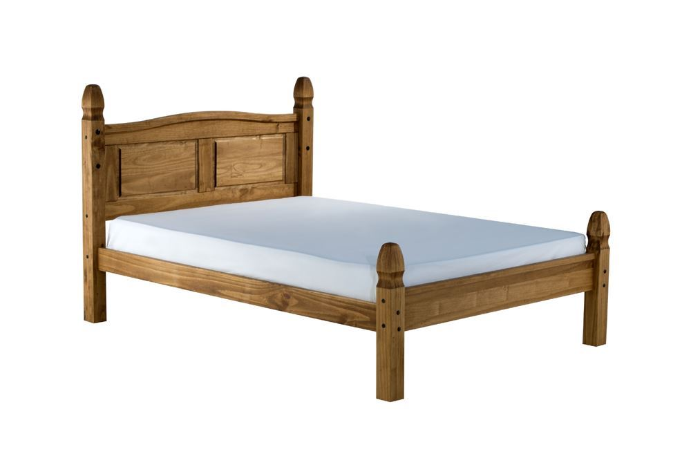 Corona Double Bed With Mattress