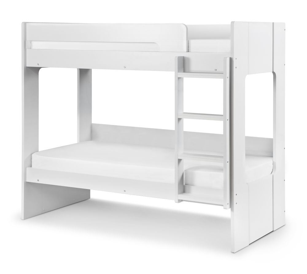 Happy Beds Ellie Bunk Bed 3ft Wood White