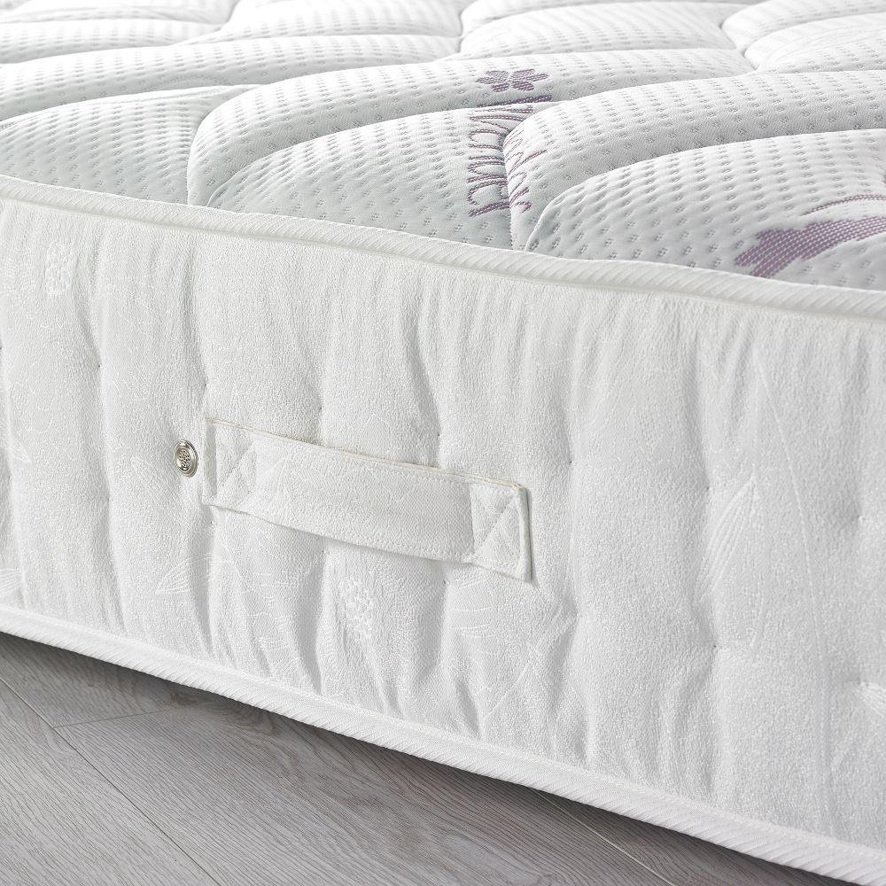 lavender 3000 pocket sprung memory foam medium firm. Black Bedroom Furniture Sets. Home Design Ideas