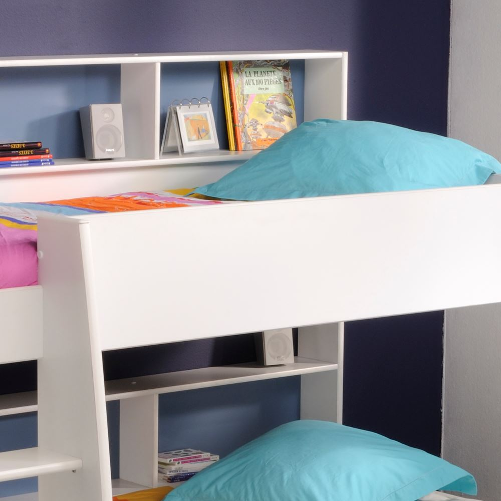 Tam Tam Wood Storage Bunk Bed Grey Or White Eu Single With 3