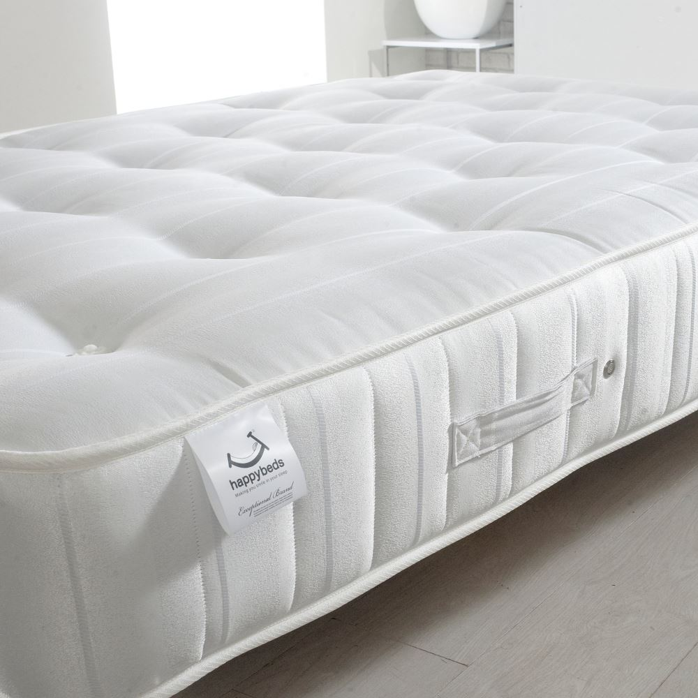 Happy Beds Super Ortho Firm Orthopaedic Mattress Bonnell Spring Reflex Foam New Ebay