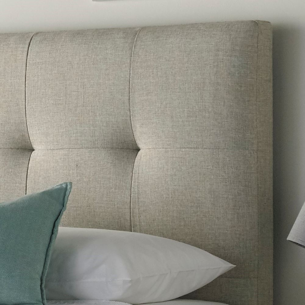 Walkworth Fabric Ottoman Storage Bed In Oatmeal Or Slate