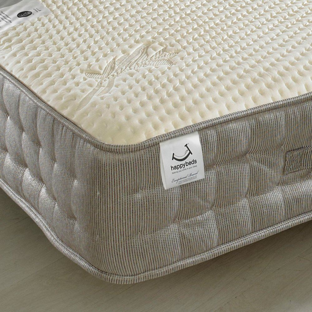 firm mattress top pocket pillow size posture land malmesbury oak king furniture spring