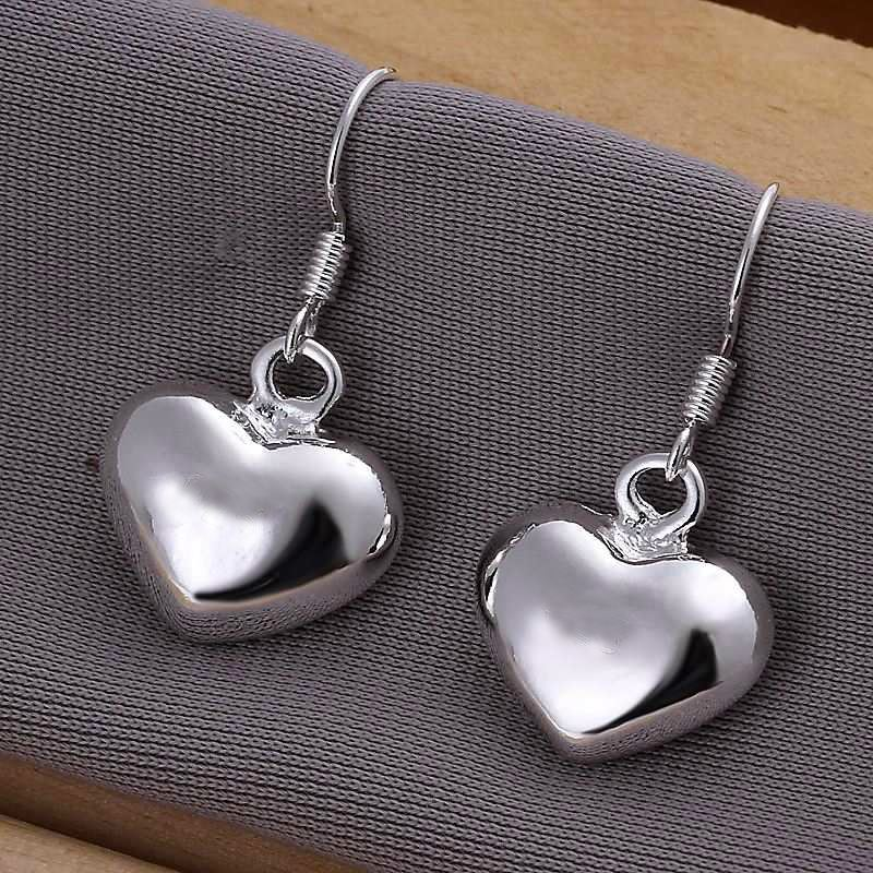 UK-Shop-925-STERLING-SILVER-PLT-LONG-DROP-DANGLE-HANGING-HOOK-EARRINGS-LARGE thumbnail 13