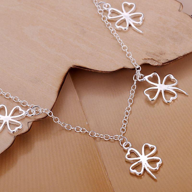 UK-Shop-925-Argento-Bracciale-catena-PLT-Braccialetto-Cavigliera-collegamento-solido-Bracciale-Charm miniatura 4