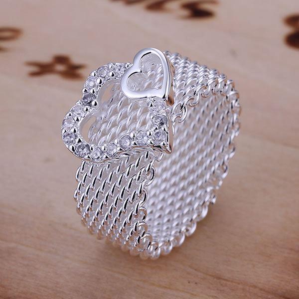 UK-925-Silver-Plt-Statement-Ring-P-1-2-Size-Ladies-Gift-Thumb-Toe-Open-Finger thumbnail 4