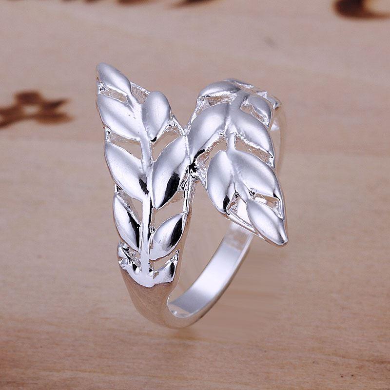 UK-925-Silver-Plt-Statement-Ring-P-1-2-Size-Ladies-Gift-Thumb-Toe-Open-Finger thumbnail 9