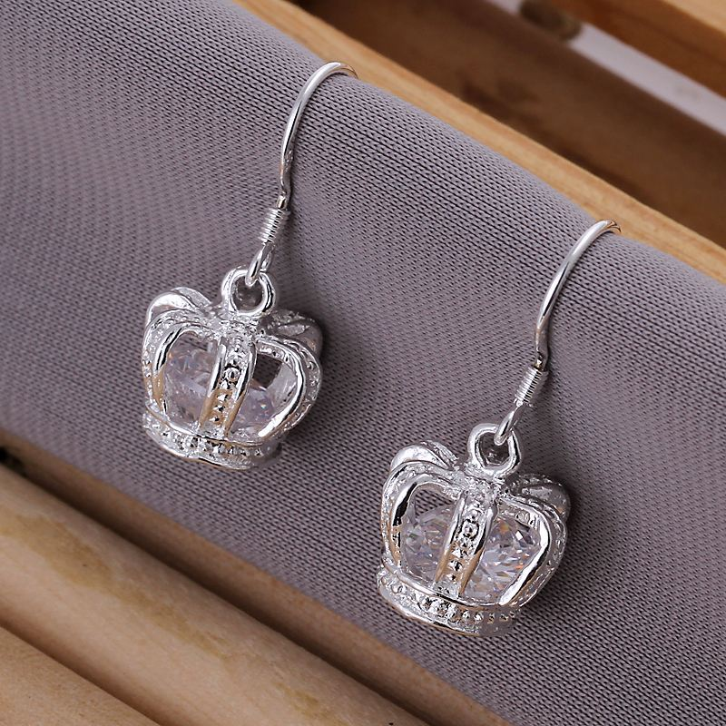 UK-Shop-925-STERLING-SILVER-PLT-LONG-DROP-DANGLE-HANGING-HOOK-EARRINGS-LARGE thumbnail 23