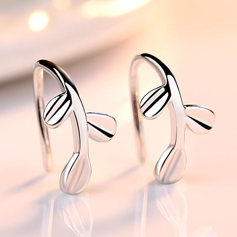 UK-Shop-925-SILVER-Plt-Grande-Goccia-Dangle-Earrings-Hoop-Gancio-Donna-Regalo miniatura 26