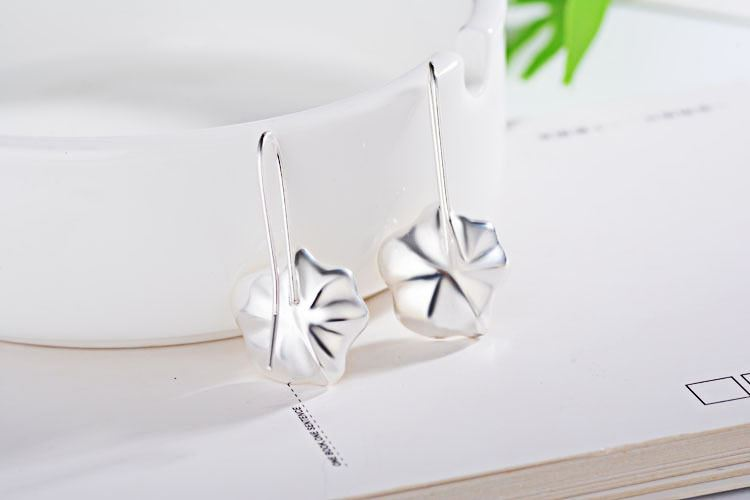 UK-Shop-925-SILVER-Plt-Grande-Goccia-Dangle-Earrings-Hoop-Gancio-Donna-Regalo miniatura 31