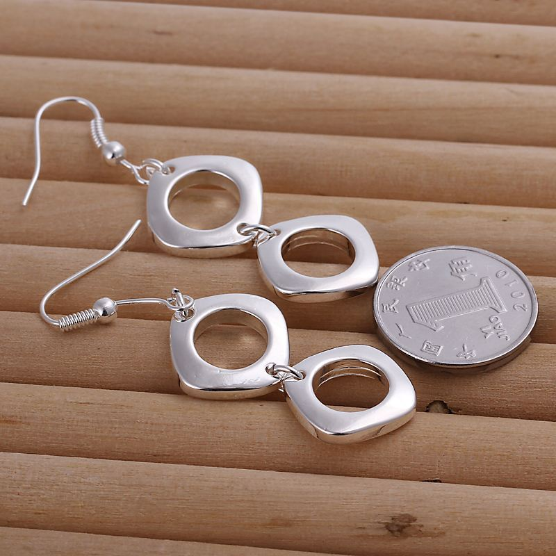 UK-Shop-925-STERLING-SILVER-PLT-LONG-DROP-DANGLE-HANGING-HOOK-EARRINGS-LARGE thumbnail 29