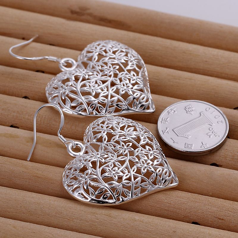 UK-Shop-925-STERLING-SILVER-PLT-LONG-DROP-DANGLE-HANGING-HOOK-EARRINGS-LARGE thumbnail 39