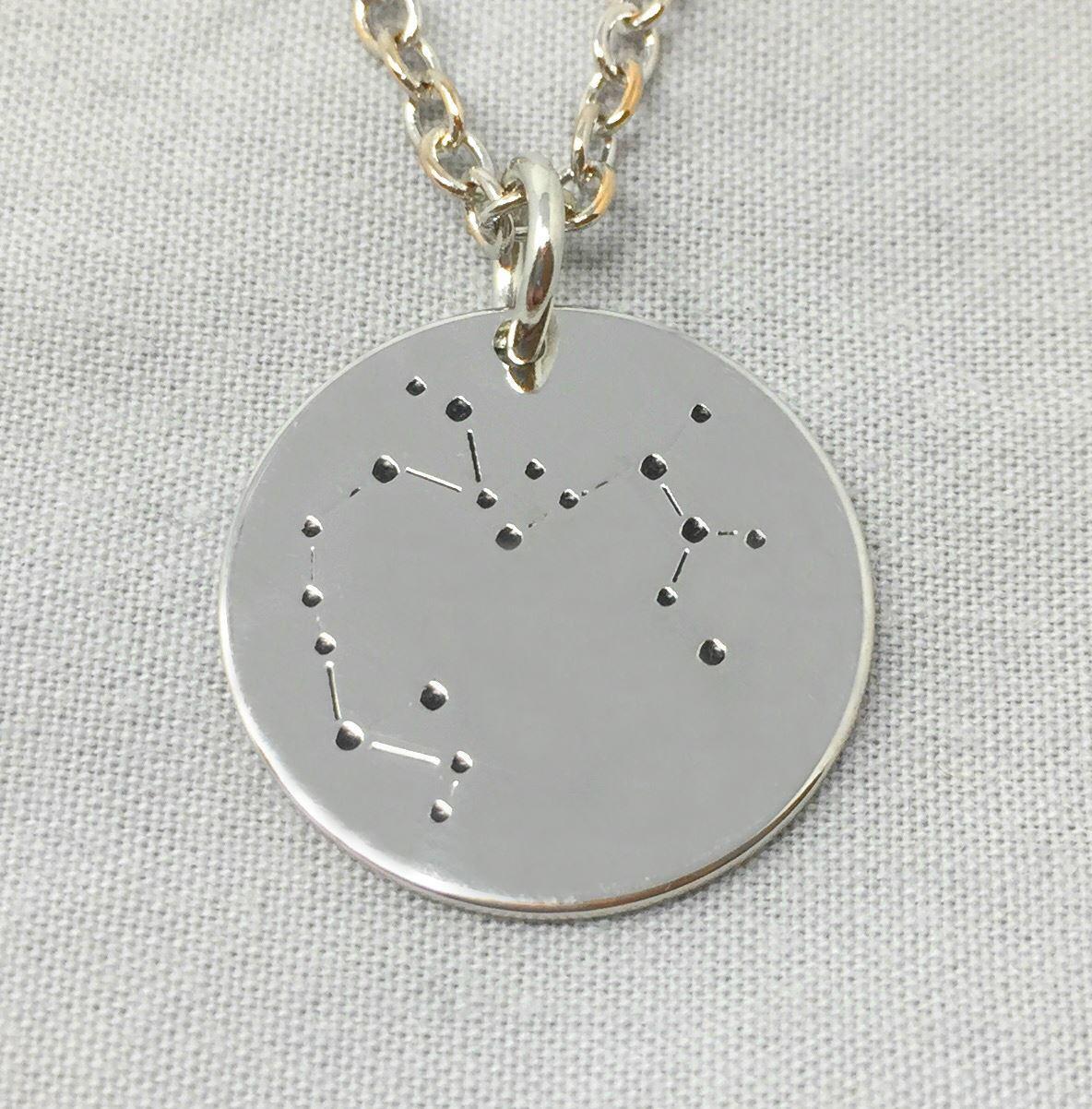 509eec48d6af Estrella-Firmar-Collar-Constelaciones-Zodiaco-Senales-Horoscopo-Cadena-