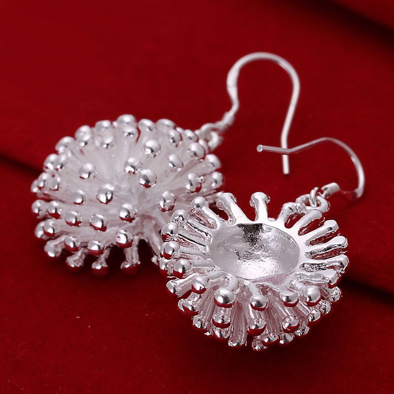 UK-Shop-925-STERLING-SILVER-PLT-LONG-DROP-DANGLE-HANGING-HOOK-EARRINGS-LARGE thumbnail 11